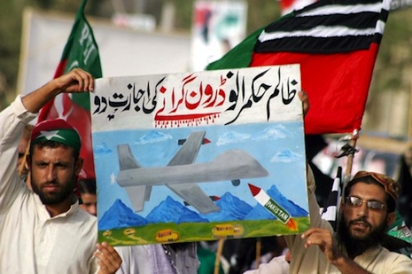 <p>Pakistanis protest against US drones. File photo:&nbsp;<a href=&quot;http://www.shutterstock.com/gallery-646174p1.html?cr=00&amp;pl=edit-00&quot;>Asianet-Pakistan</a>/<a href=&quot;http://www.shutterstock.com/?cr=00&amp;pl=edit-00&quot;>Shutterstock.com</a></p>
