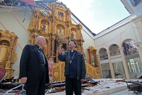 Catholic relief targets two centers ravaged by typhoon