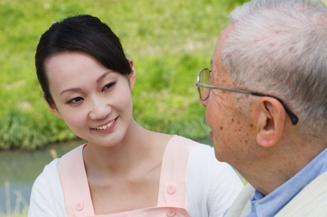 Japanese caregivers' breakthrough in helping the elderly