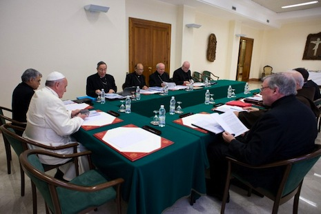 Council of cardinals sits down with pope for second time