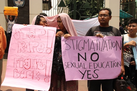 Jakarta website aims to help women report sexual violence