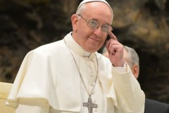 Pope says he won't be naming women cardinals
