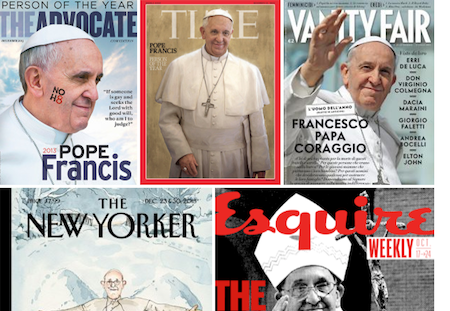 Pope Francis extends his magazine cover collection