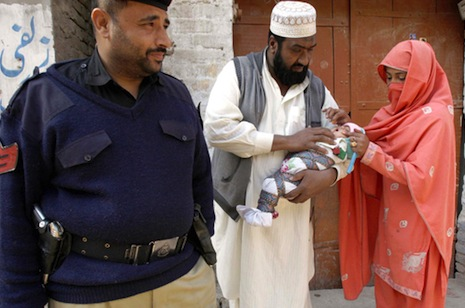 Four polio workers killed in Pakistan