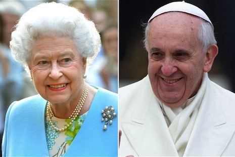 Queen Elizabeth to visit Pope Francis on April 3