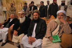 Pakistan government and Taliban start peace talks