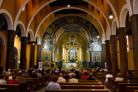 Disappointing news on US Catholic Mass attendances