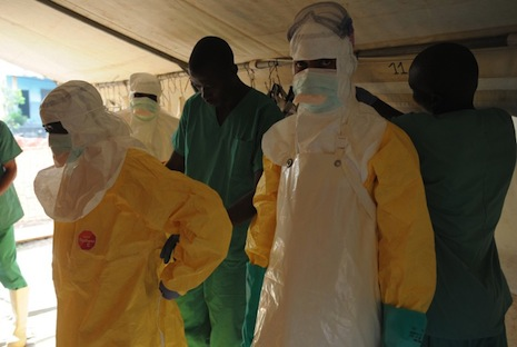 'Unprecedented' ebola outbreak in Africa