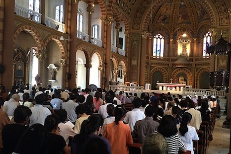 Faith leaders unite to pray for end to Thailand's troubles