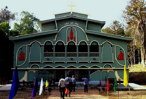 <p>The Catholic church in Bandarban, southeastern Chittagong Hill Tracts is at the center of an anti-Christian campaign (Photo: Chittagong Catholic Diocese website)</p>