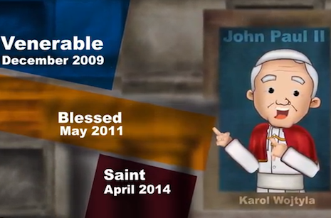 Catholic media group animates life of St. John Paul II