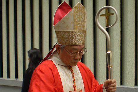 <p>Retired Cardinal Joseph Zen Ze-kiun (2008 file picture: Wikimedia Commons)</p>