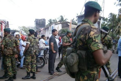Three Muslims killed in Sri Lanka clashes
