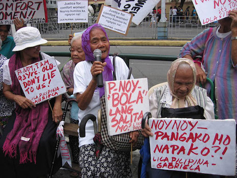 Filipino 'comfort women' seek apology from Japan