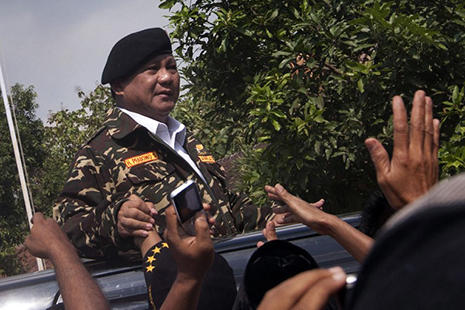 Indonesian presidential hopeful's murky past refuses to disappear