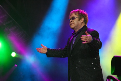 Elton John joins the Pope Francis fan club