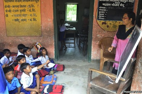 The rot eating away at India's primary education system