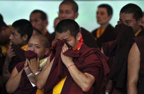 Change of heart as Nepal allows senior Tibetan monk's funeral