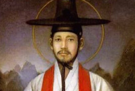 <p>Saint Andrew Kim Taegon, Korea's first Catholic priest and martyr.</p>