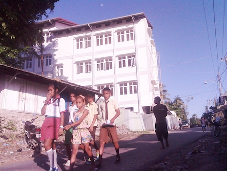 College seeks to end corporal punishment in Timor-Leste