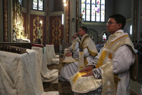 Is the Latin Mass on the way out or the way back?