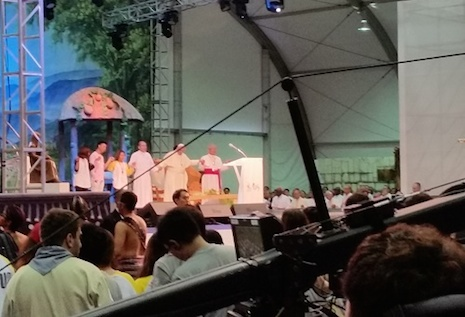 Hong Kong youth moved to tears by Pope Francis' remarks at AYD event