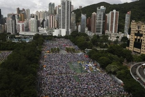 China's leaders meet to discuss Hong Kong's future