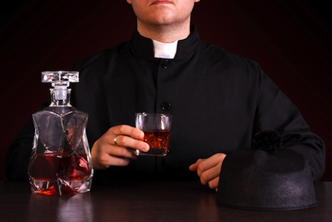 Why are so many priests alcoholics?