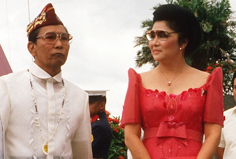 <p>Ferdinand and Imelda Marcos, 1984. (Picture: Wikimedia Commons)</p>