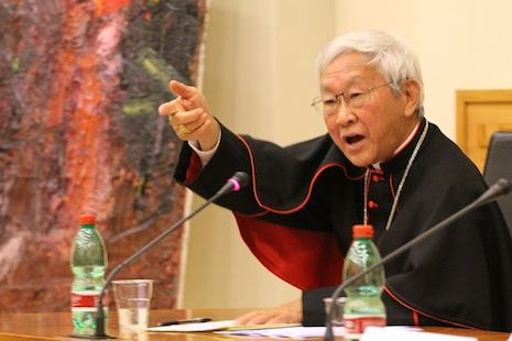 Zen says he sees no 'good will' from China toward the pope