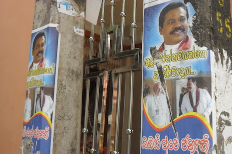 Groups decry illegal use of pope's image on election posters