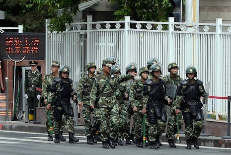 China court sentences eight Uyghurs to death