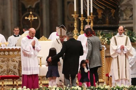 Pope Francis' Christmas message addresses the lives and suffering of children