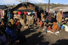 Rohingya refugees in India pray for better days