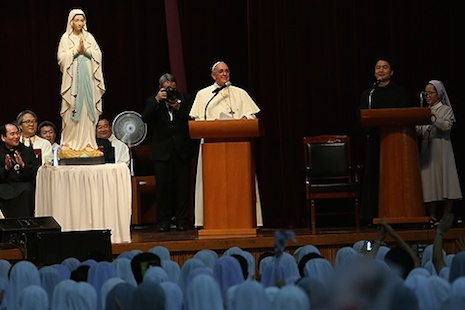 Pope addresses bishops from South Korea, Mongolia