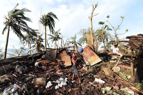 Fears of food shortages in Vanuatu as huge storm damage revealed