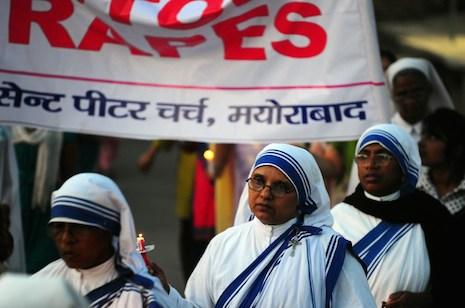 Indian police make arrest in nun rape case