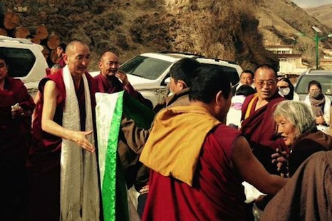 China allows rare security-free return for imprisoned Tibetan monk