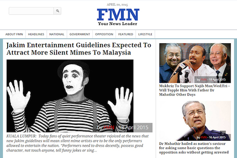 For Malaysia's satirists, Sedition Act is no laughing matter
