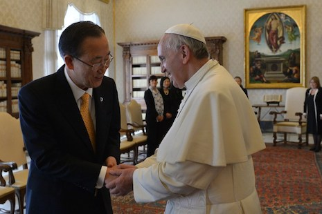 Pope, UN chief in shock over migrant deaths, back action on climate change