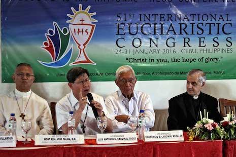 Cardinal Tagle appeals for International Eucharistic Congress donations