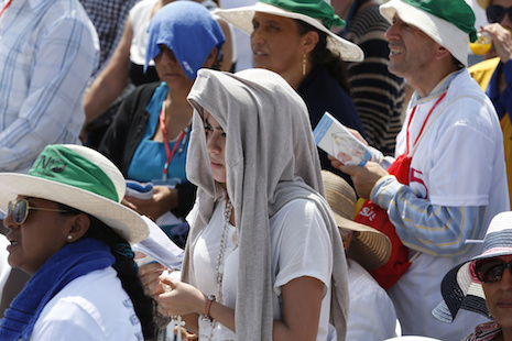 Families need prayers, mercy, courage, pope says