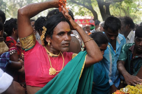 Indian transgender people demand dignity and justice
