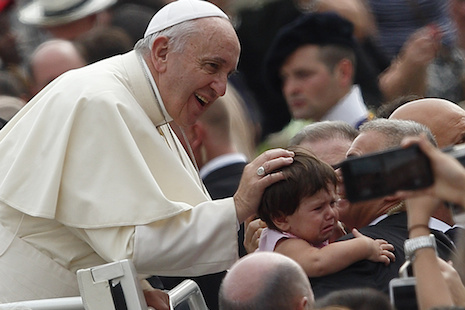 Faith includes recognizing one's sinfulness, pope says