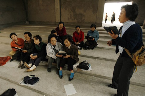 Why do most North Korean migrants choose to be Protestant?