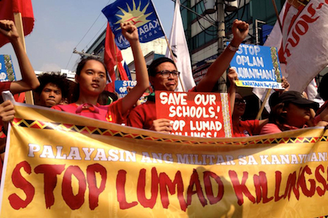 Authorities shut down tribal school in southern Philippines