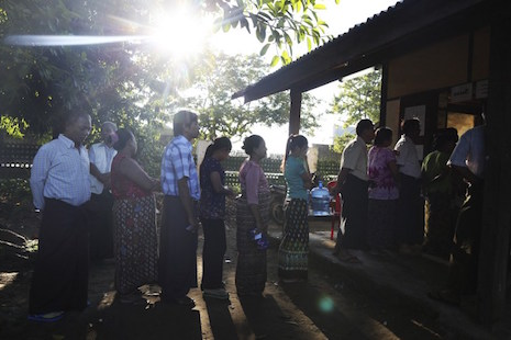 Myanmar vote result raises fears for Rohingya