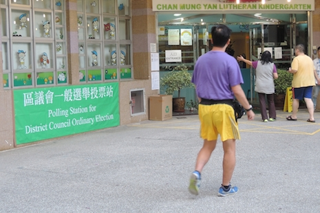 Hong Kong elections show fresh interest among voters