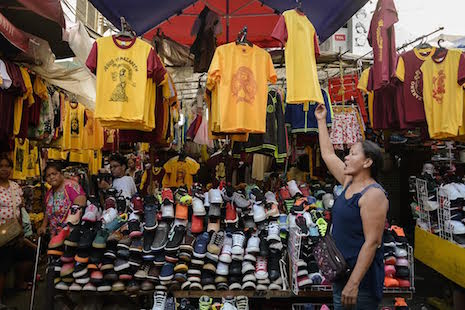 Black Nazarene mementos are a way of life for vendors