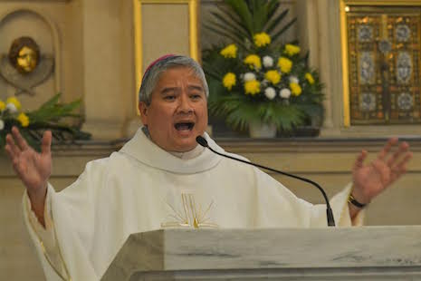 Philippine diocese to keep money out of church services